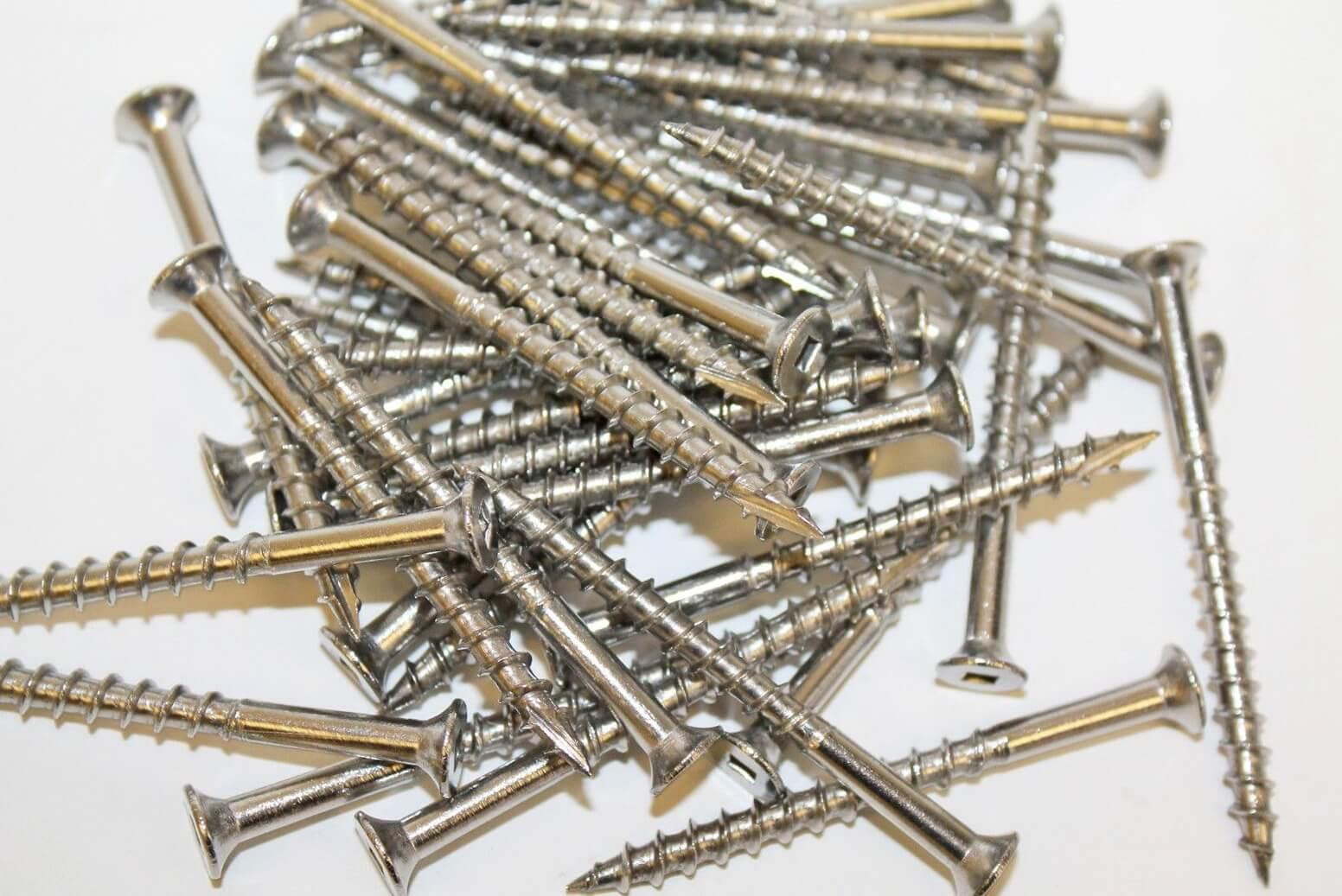 316 Stainless Steel Deck Screws