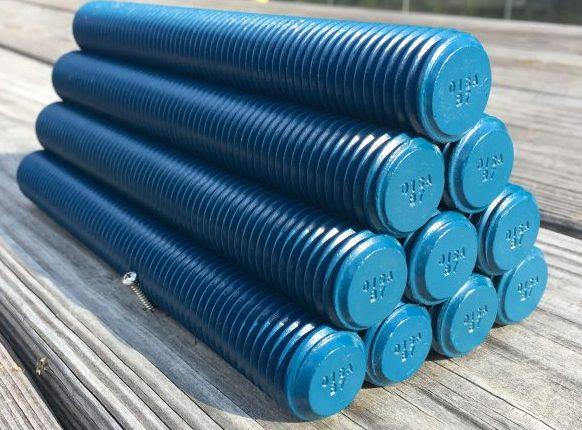ASTM A-193 B7 Studs Teflon Blue