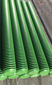 B7 Studs Teflon Green